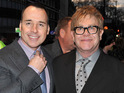Elton John says that he and partner David Furnish are enjoying the responsibilities of fatherhood.