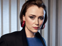 Keeley Hawes admits that she stole a picture of the Queen from the Ashes To Ashes set.