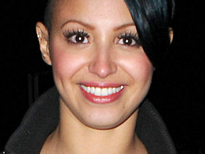 Sugababe Amelle Berrabah out and about around London's Soho