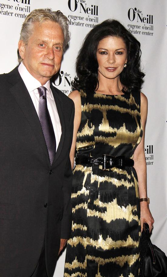 Michael Douglas and Catherine  Michael Douglas Catherine Zeta Jones