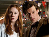 Doctor Who S05E02: The Beast Below - The Doctor and Amy