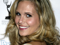 Army Wives star Sally Pressman has wed Cougar Town star David Rogers.