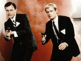 Napoleon Solo and Illya Kuryakin from &#39;The Man From U.N.C.L.E&#39;