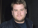 James Corden outside the May Fair hotel