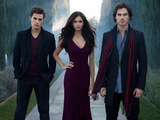The cast of The Vampire Diaries