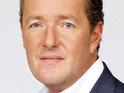 Piers Morgan keeps quiet over reports which have linked him to a CNN deal.