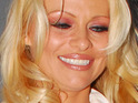 Pamela Anderson says that she spent Xmas Day visiting charities for animals and domestic abuse victims.