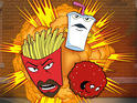 The creator and star of Aqua Teen Hunger Force embark on a live tour.