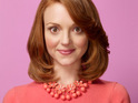 "Glee star Jayma Mays reveals that her character Emma has a ""shocking"" storyline coming up."