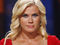 "Biggest Loser's Alison Sweeney jokes that working out with Bob and Jillian can be ""brutal""."