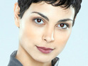 "Morena Baccarin suggests that Marc Singer's guest role on V is a ""big deal""."