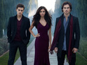 The executive producer of The Vampire Diaries reveals details of the love triangles on the show.