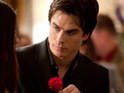 "Ian Somerhalder teases a ""steamy"" scene between Damon and Elena in The Vampire Diaries."