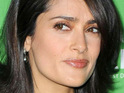 Salma Hayek's 2-year-old daughter Valentina likes to sing to actors on the set of  Grown Ups.
