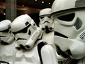 George Lucas loses a copyright battle over the sale of Star Wars Stormtrooper replicas.