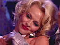 Pamela Anderson returns to Australia to perform on Dancing With The Stars with her Aussie partner.