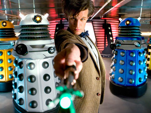 Doctor Who S05E03: The Victory of the Daleks - The Doctor and the Daleks