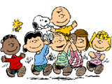 the Peanuts gang