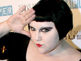 Beth Ditto at Paper magazine's Beautiful People party