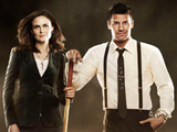Dr Temperance Brennan and Agent Seeley Booth from Bones