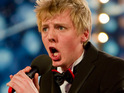 Britain's Got Talent classical pop group The Arrangement say that they are playing a gig with Olly Murs.