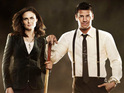 Bones stars Emily Deschanel and David Boreanaz discuss whether Booth and Brennan will get together.