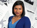 Mindy Kaling suggests that her role on The Office is similar to a Simpsons cartoon.