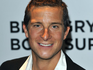 Bear Grylls at the TV premiere for Bear Grylls: Born Survivor, London