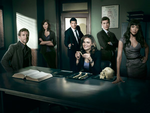 The cast of Bones