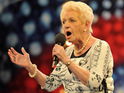 Britain's Got Talent star Janey Cutler scraps her usual habit of singing at the pub.