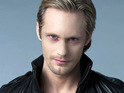 True Blood star Alexander Skarsgård says that his military experience has helped him as an actor.