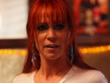 "Carrie Preston jokes that there is ""never a dull moment"" on her show True Blood."