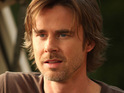 True Blood star Sam Trammell jokes that his character is abused by the writers.