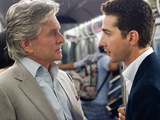Michael Douglas and Shia LeBoeuf in Wall Street Money Never Sleeps