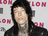 Trace Cyrus of Metro Station