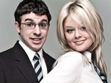 Will and Charlotte from The Inbetweeners