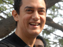 Bollywood figures including Aamir Khan, Kiran Rao, Preity Zinta, Lara Dutta and Suniel Shetty attend India's win.