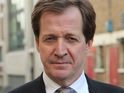 Alastair Campbell tweets his disapproval of comic Iannucci's OBE acceptance.