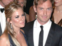 "Jude Law is said to be having ""a rough time"" after separating from long-term lover Sienna Miller."