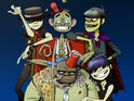 Gorillaz make content available via their new online advent calender.