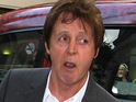 Sir Paul McCartney has been asked to apologize for a joke about former US President George W. Bush.