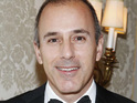 Television star Matt Lauer and his wife Annette blast reports that they have split.