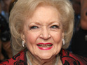 Betty White dismisses recent reports that she does not get along with Doris Roberts.