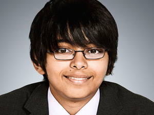 Arjun Rajyagor from Junior Apprentice