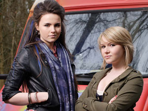 Lucy Beale Zsa Zsa Carter 	Emer Kenny Melissa Suffield