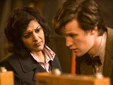 Doctor Who S05E08: The Hungry Earth - Nasreen and the Doctor