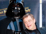 Mark Hamill and Darth Vader