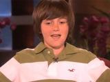 Greyson Chance on Ellen