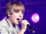 Justin Bieber in concert at Los Angeles-based radio station KIIS FM's Wango Tango event
