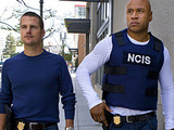 "Special Agent Sam Hanna and Special Agent ""G"" Callen in NCIS: Los Angeles"
